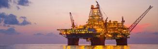 Transformador para plataforma de petróleo